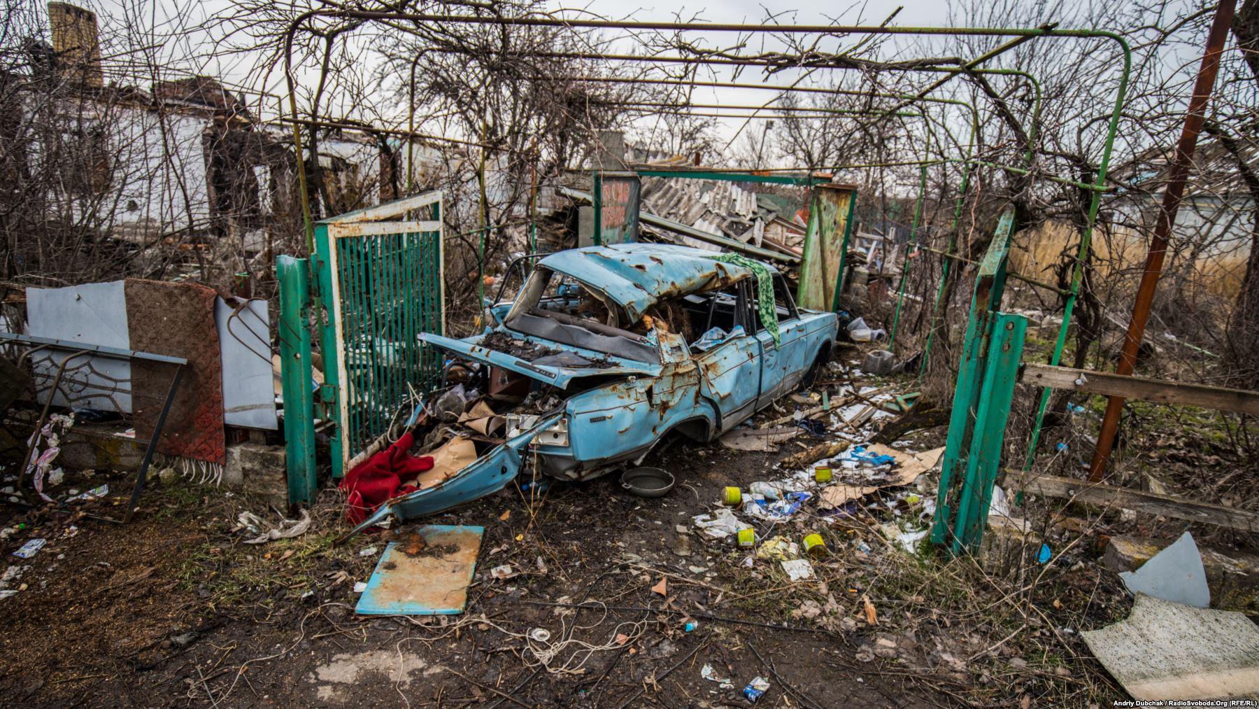 Більшіть будинів у Широкині зруйновані до стану «простіше збудувати новий»