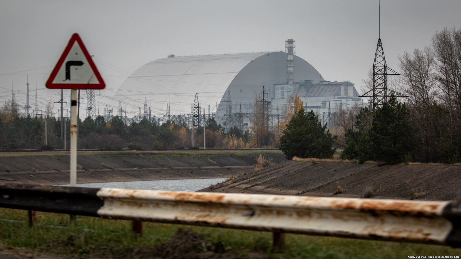 Chernobyl's New Safe Confinement (NSC) was designed to contain radiation for the next century. Photo by: Andriy Dubchak