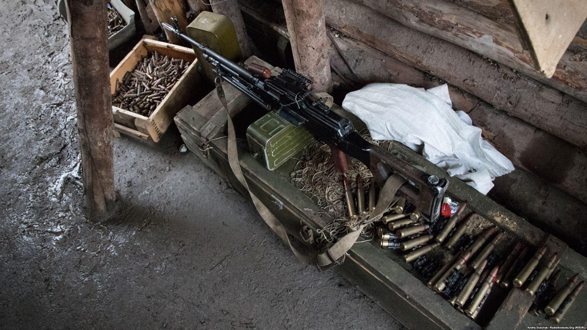 На позиціях усе завжди готове до бою, який може розпочатися будь-коли (фотограф Андрей Дубчак / Andriy Dubchak)
