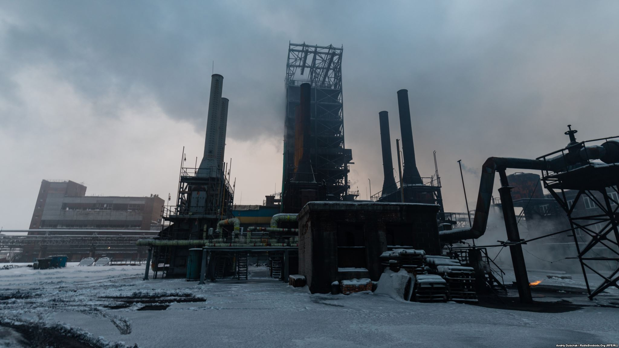 Avdiivka Coke Plant photo by Andriy Dubchak